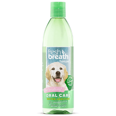 Tropiclean Fresh Breath Oral Care Water Additive for Puppies | Pisces Pets
