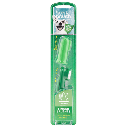 Tropiclean Fresh Breath Finger Brushes | Pisces Pets