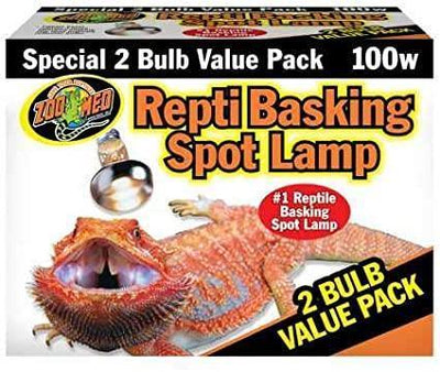 ZooMed Repti Basking Spot Lamp 100W 2pk