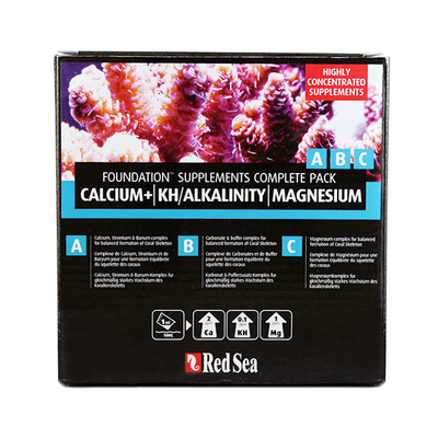 Red Sea Foundation Supplements Complete Pack | Pisces Pets