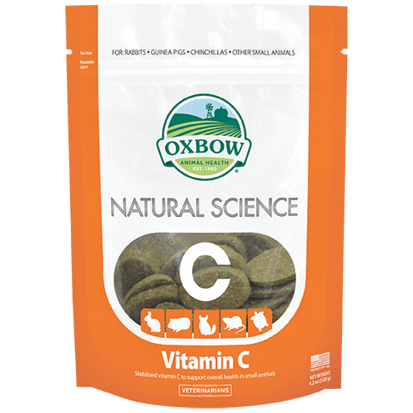 Oxbow Natural Science Vitamin C | Pisces Pets