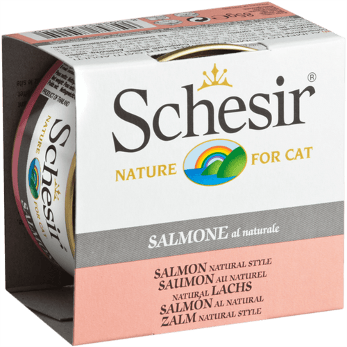 Schesir Adult Cat Salmon 75 g | Pisces Pets