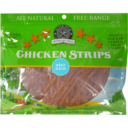 Silver Spur Chicken Jerky Slices 450 g | Pisces Pets