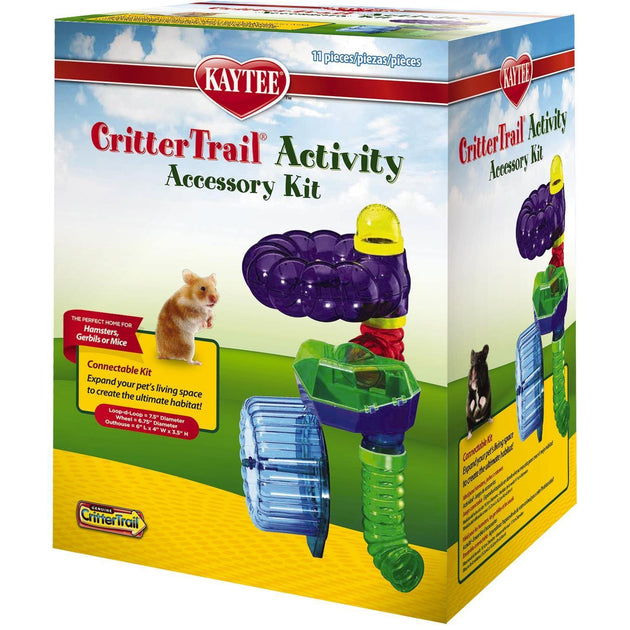 Kaytee CritterTrail Accessory Activity Kit | Pisces Pets