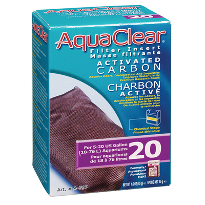 AquaClear 20 Activated Carbon | Pisces Pets