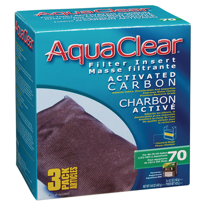 AquaClear 70 Activated Carbon 3 pack | Pisces Pets