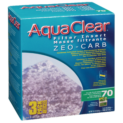 AquaClear 70 Zeo-Carb 3 pack | Pisces Pets