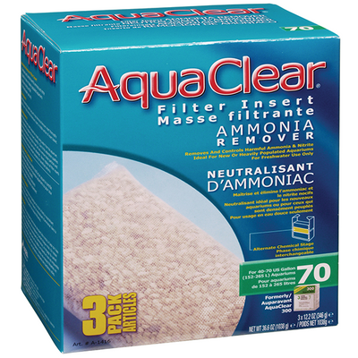 AquaClear 70 Ammonia Remover 3 pack | Pisces Pets