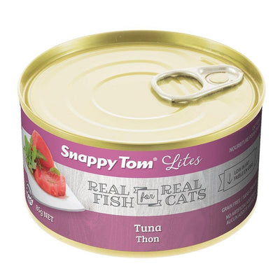 Snappy Tom Lites Tuna Cat Food 85 g | Pisces Pets