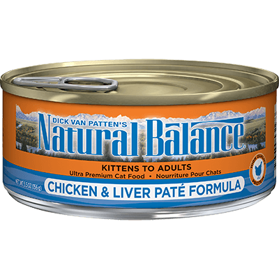Natural Balance Cat Chicken & Liver Pate 156 g | Pisces Pets
