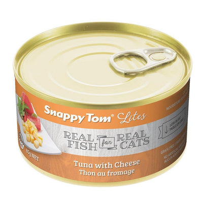 Snappy Tom Lites Tuna & Cheese Cat Food 85 g | Pisces Pets
