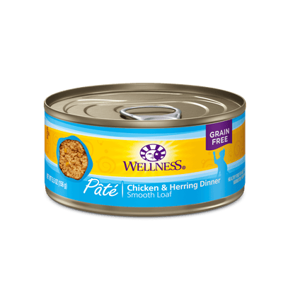 Wellness Cat Chicken & Herring Pate 156 g | Pisces Pets
