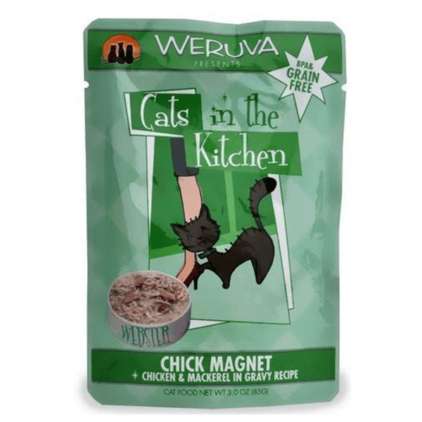 Cats in the Kitchen Chick Magnet 85 g | Pisces Pets