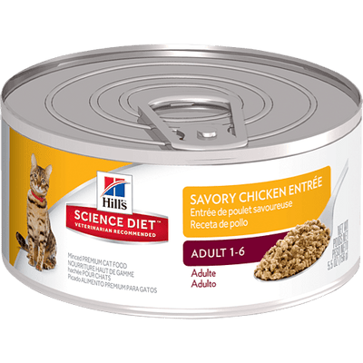 Science Diet Adult Cat Savory Chicken 156 g | Pisces Pets