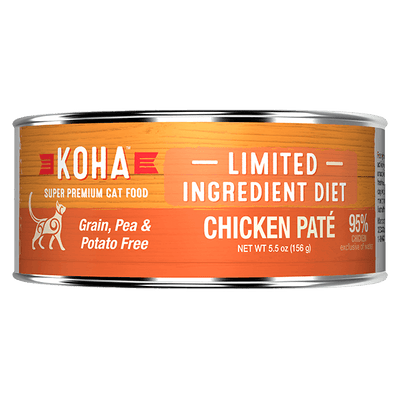 Koha Cat Chicken Pate 156 g | Pisces Pets