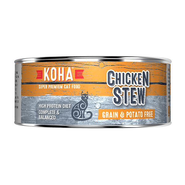 Koha Cat Chicken Stew 156 g | Pisces Pets