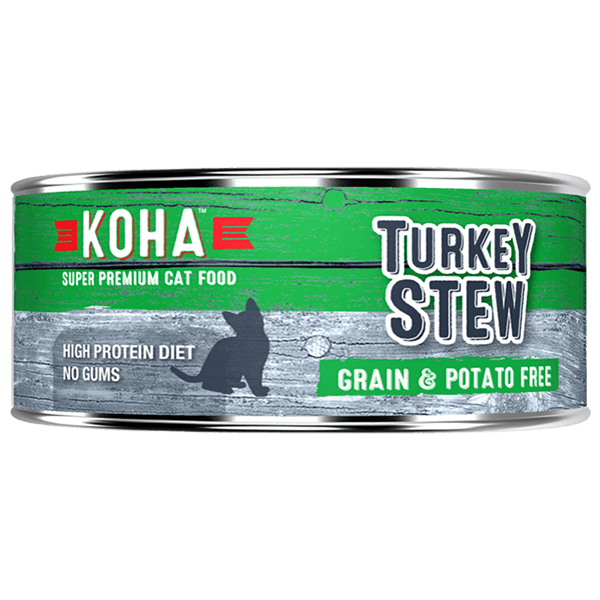 Koha Cat Turkey Stew 156 g | Pisces Pets