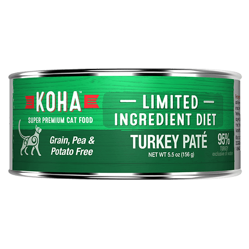 Koha Cat Turkey Pate 156 g | Pisces Pets