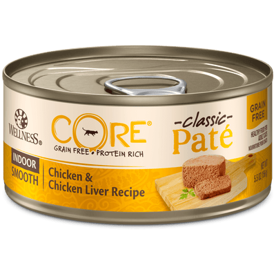 Wellness Core Indoor Cat Chicken & Chicken Liver 156 g | Pisces Pets