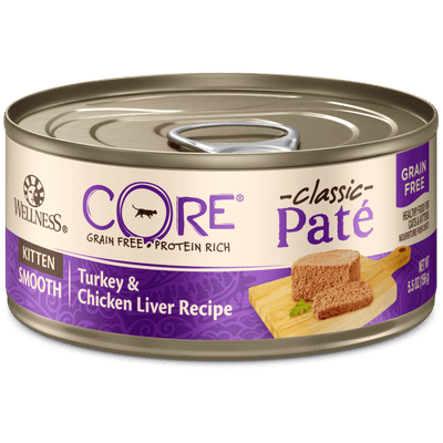 Wellness Core Kitten Turkey & Chicken Liver Pate 156 g | Pisces Pets