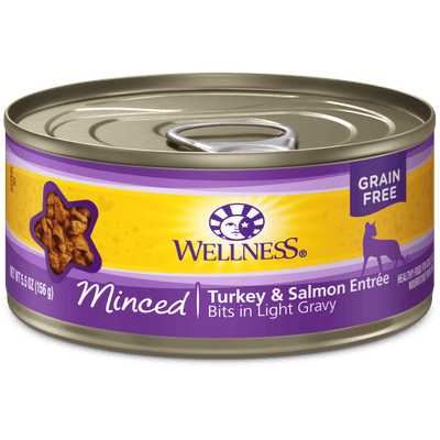 Wellness Cat Minced Turkey & Salmon 156 g | Pisces Pets