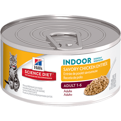 Science Diet Indoor Adult Cat Savory Chicken 156 g | Pisces Pets