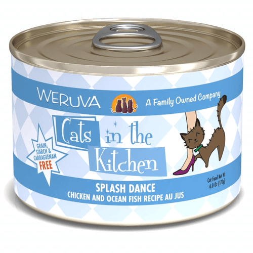 Cats in the Kitchen Splash Dance - 170 g | Pisces Pets
