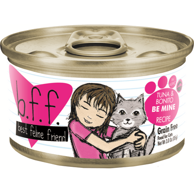 Weruva BFF Cat Tuna & Bonito Be Mine 85 g | Pisces Pets