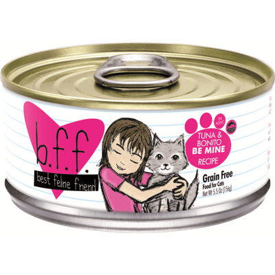 Weruva BFF Cat Tuna & Bonito Be Mine 156 g | Pisces Pets