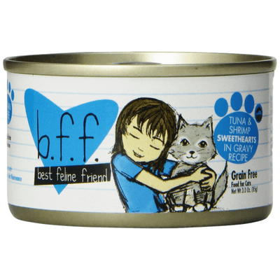 Weruva BFF Cat Tuna & Shrimp Sweethearts 85 g | Pisces Pets