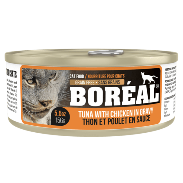 Boreal Cat Tuna & Chicken 156 g | Pisces Pets