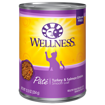 Wellness Cat Turkey & Salmon Pate - 354 g | Pisces Pets