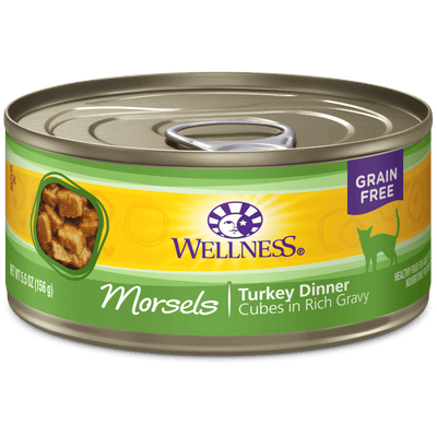 Wellness Cat Morsels Turkey 156 g | Pisces Pets