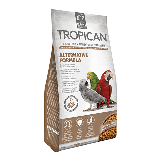 Tropican Alternative Formula Parrot | Pisces Pets