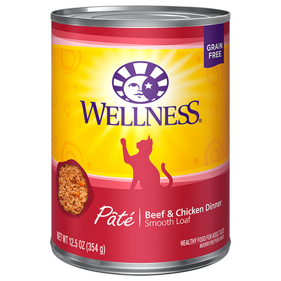 Wellness Cat Beef & Chicken Pate - 354 g | Pisces Pets