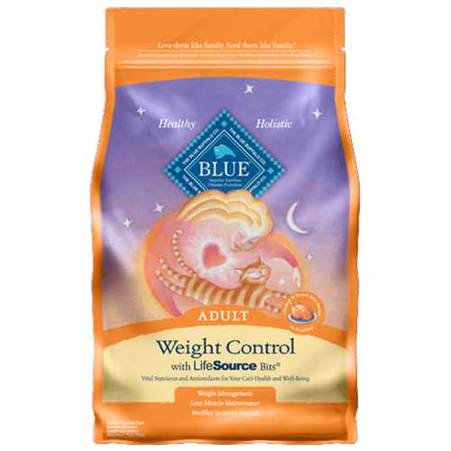 Blue Adult Cat Weight Control Chicken & Brown Rice 3.2 Kg | Pisces Pets