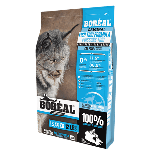 Boreal Cat food Fish Trio 2.26 Kg | Pisces Pets