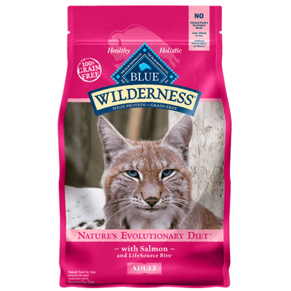 Blue Wilderness Adult Cat Salmon 2.27 Kg | Pisces Pets