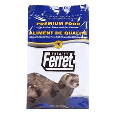 Totally Ferret Premium Food for Active and Show Ferrets - 1.82Kg | Pisces Pets