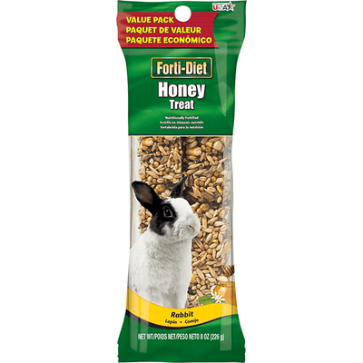 Kaytee Forti-Diet Pro Health Honey Treat Stick - Rabbit | Pisces Pets
