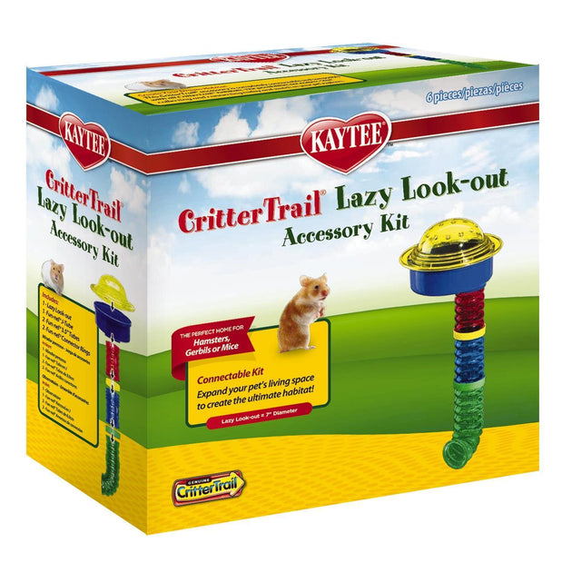 Kaytee CritterTrail Lazy Look-Out Accessory Kit | Pisces Pets