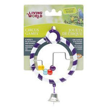 Living World Circus Toy Abacus Purple | Pisces Pets