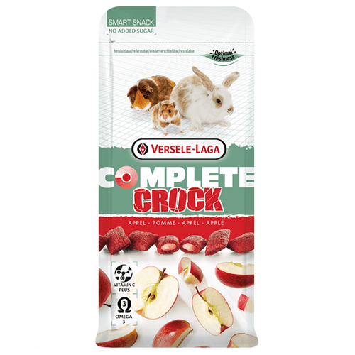 Versele-Laga Complete Crock Apple Smart Snack | Pisces Pets