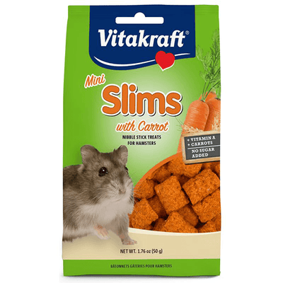 Vitakraft Mini Slims with Carrot for Hamsters - 50 g | Pisces Pets