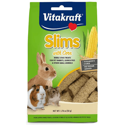 Vitakraft Slims with Corn for Rabbits - 50 g | Pisces Pets