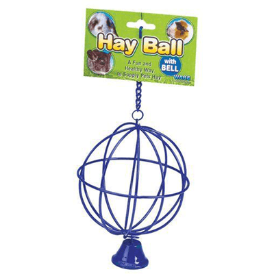 Critter Ware Hay Ball with Bell | Pisces Pets