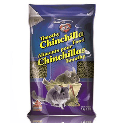 Martin Timothy Chinchilla Food - 1Kg | Pisces Pets