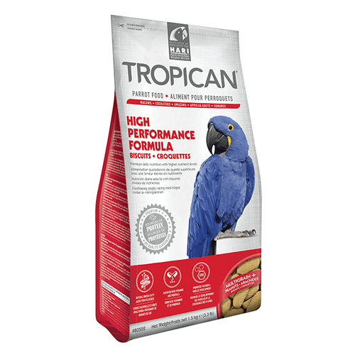 Tropican High Performance Formula Biscuits for Parrots | Pisces Pets