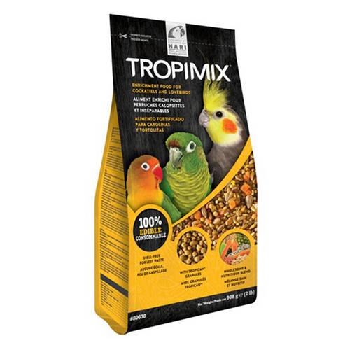 Tropimix Formula for Cockatiels & Lovebirds - 908 g | Pisces Pets