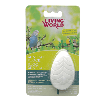 Living World Mineral Block for Small Birds | Pisces Pets